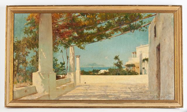 , 'Anacapri, Island of Capri,' ca. 1890, Susan Calloway Fine Arts