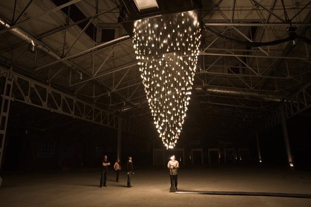 Rafael Lozano-Hemmer, 'Pulse Spiral,' 2008-2012, bitforms gallery