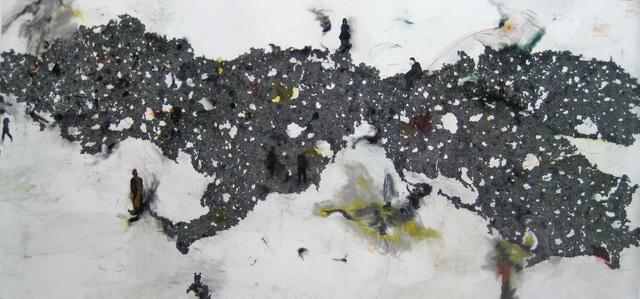 Eric Pina, 'Paysage, Les Dessous des Cartes I ', 2011, Ed Cross Fine Art