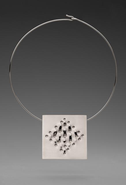 , 'Superficie necklace,' 2013, Elisabetta Cipriani