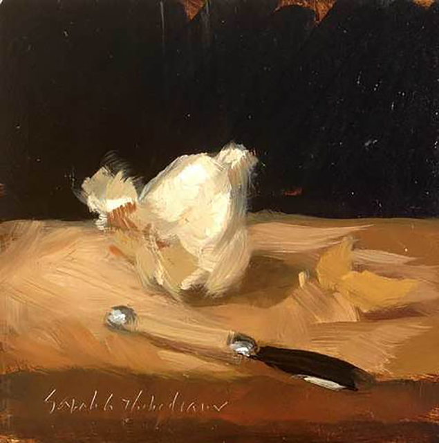 , 'Garlic and Knife,' , LeMieux Galleries