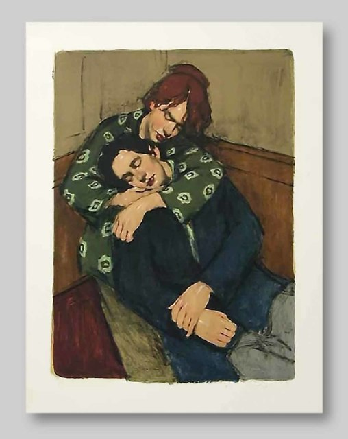 Malcolm T. Liepke, 'In Her Arms', 2001, Approximately Blue
