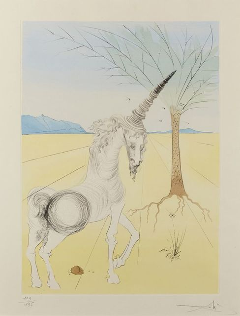 Salvador Dalí, 'Joseph [Michler & Löpsinger 618]', 1973, Print, Drypoint etching with stencil in colours on Arches wove, Roseberys