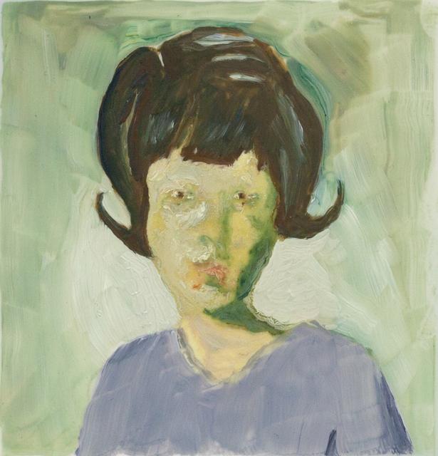 , 'Girl with Hairdo,' 2017, Galleri Magnus Karlsson