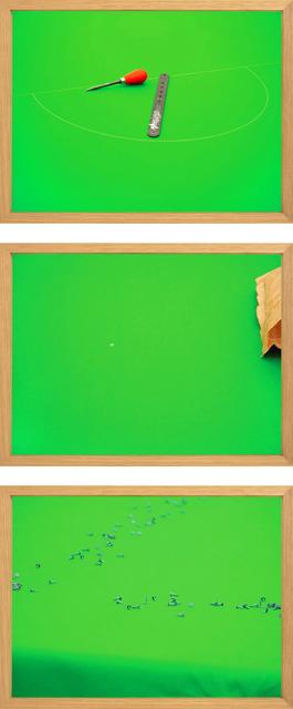 , 'D, Centre Spot, Tacks,' 2007, S1 Artspace