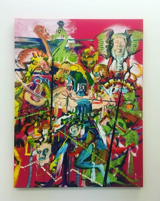, ''Rendez-Vous',' 2018, Kers Gallery