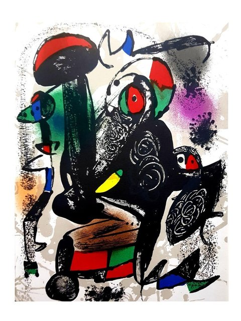 "Joan Miró, 'Original Lithograph ""Abstract Composition III"" by Joan Miro', 1981, Galerie Philia"