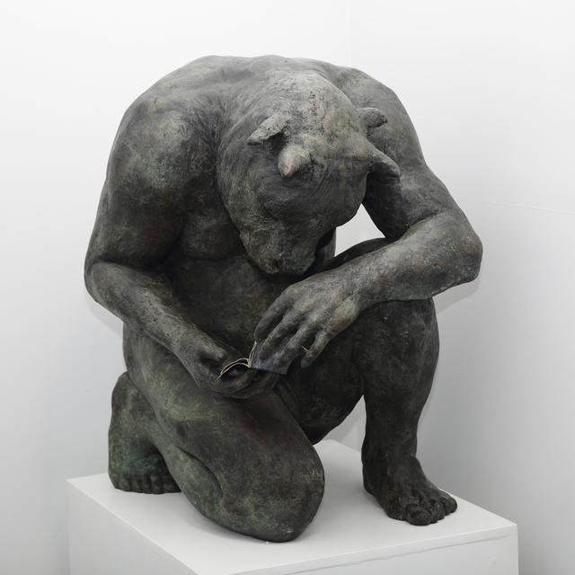 Beth Carter, 'Crouching Minotaur (giant)', Sturgis Art Gallery