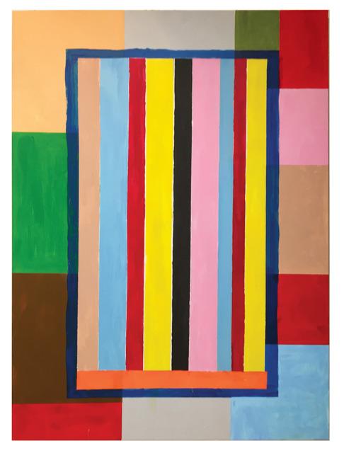 Thornton Willis, 'a stripe painting', 2020, Painting, Acrylic on canvas, Elizabeth Harris Gallery