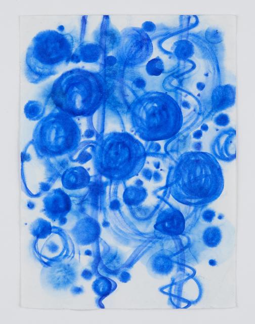 Satoshi Hirose | Untitled (Blue drawing) (2011) | Artsy