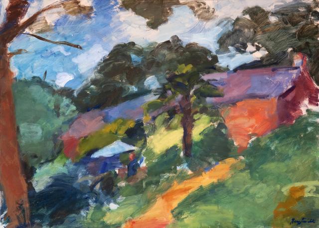 , 'Rioufol on the Terrace,' 2019, Valley House Gallery & Sculpture Garden