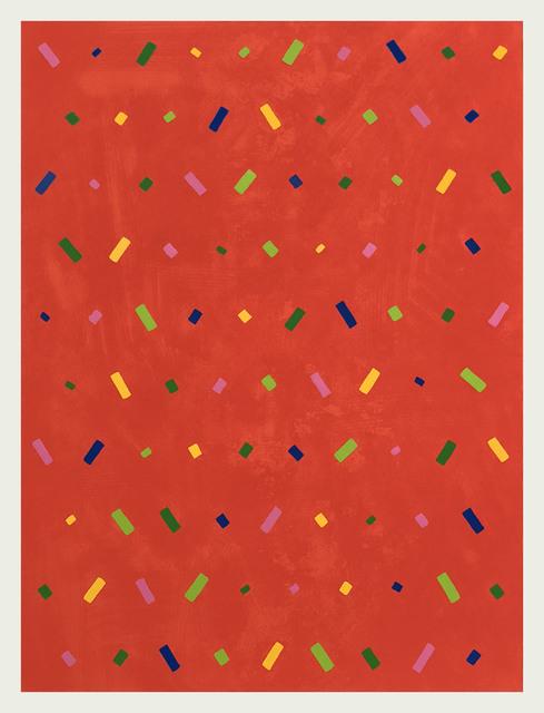 Osvaldo Mariscotti, 'Untitled (Red OM18-0302)', 2018, Upsilon Gallery