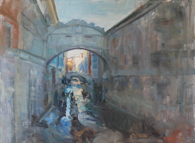 , 'Bridge of Sighs,' 2018, Vail International Gallery