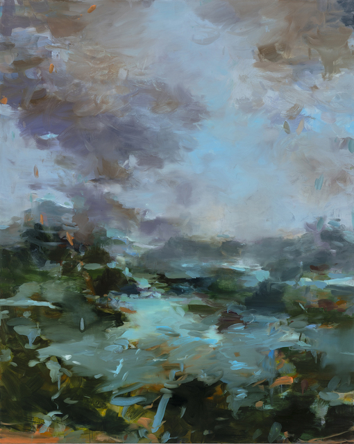 Suzanne Onodera, 'Through the Lush', 2020, Painting, Oil on canvas, Seager Gray Gallery