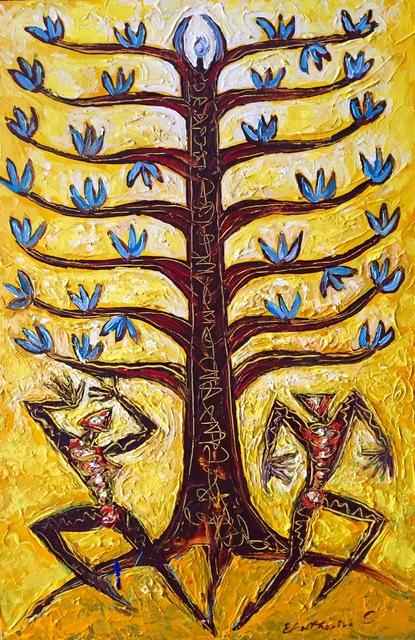 , 'Tree of Life Yellow,' , Ashok Jain Gallery