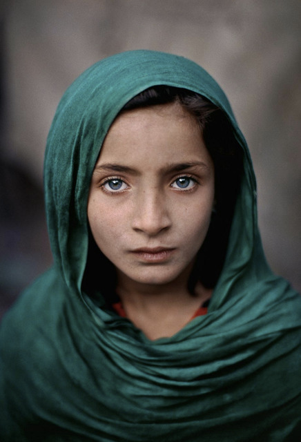 , 'Girl with Green Shawl, Peshawar, Pakistan,' 2002, Etherton Gallery