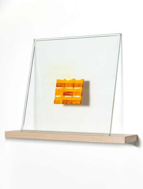 , 'Moist (yellow) I,' 2012, Whitehouse Gallery