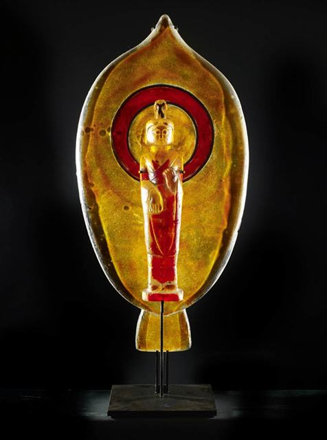 , 'Amber Lotus Buddha with Halo,' , CODA Gallery