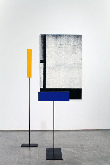 , ''Composition with Red, Black, Blue and Yellow' in Time and Space,' 2011, Marianne Boesky Gallery