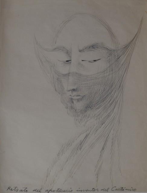 , 'Retrato del apoticario inventor del cartónico,' 1962, Pablo Goebel Fine Arts