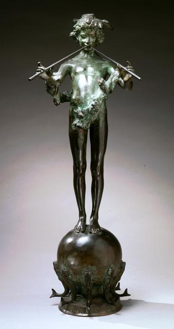 , 'Pan of Rohallion,' 1890, Newark Museum