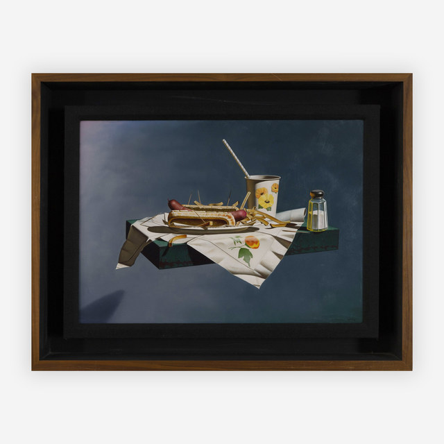 Gary Thomas Erbe, 'Levitational Realism (fast food)', 1979, Capsule Gallery Auction