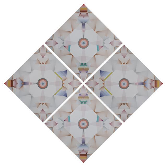 , 'Kaleidoscopic Jewel Glow  – Trustworthy #274 ,' 2016, Barbara Wien