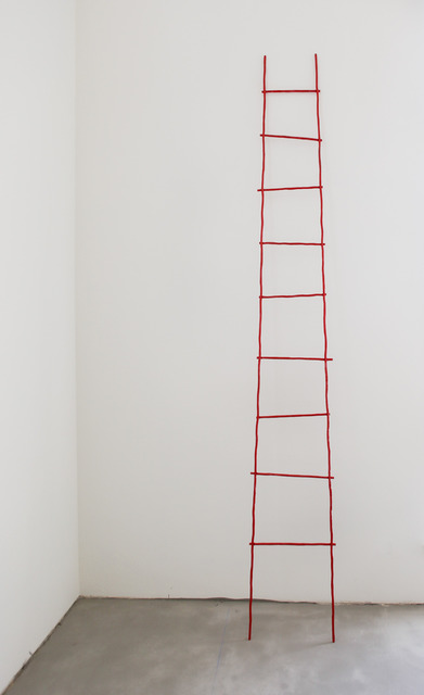 , 'Rote Leiter (The Scale),' 2014, Peter Blum Gallery