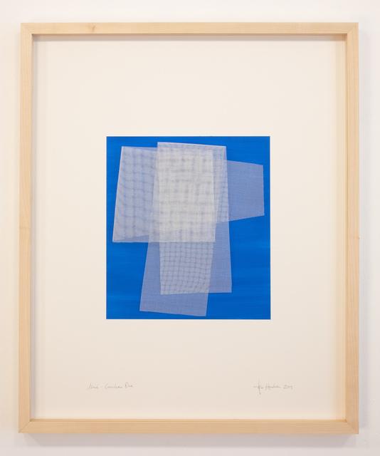 Tom Henderson, 'Moiré - Cerlean Blue', 2019, Galerie Dutko