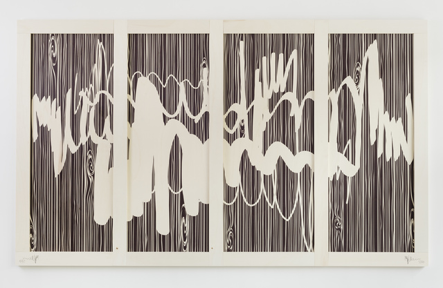 , 'Artist's Signature (Negative) A,' 2014, Eleven Rivington