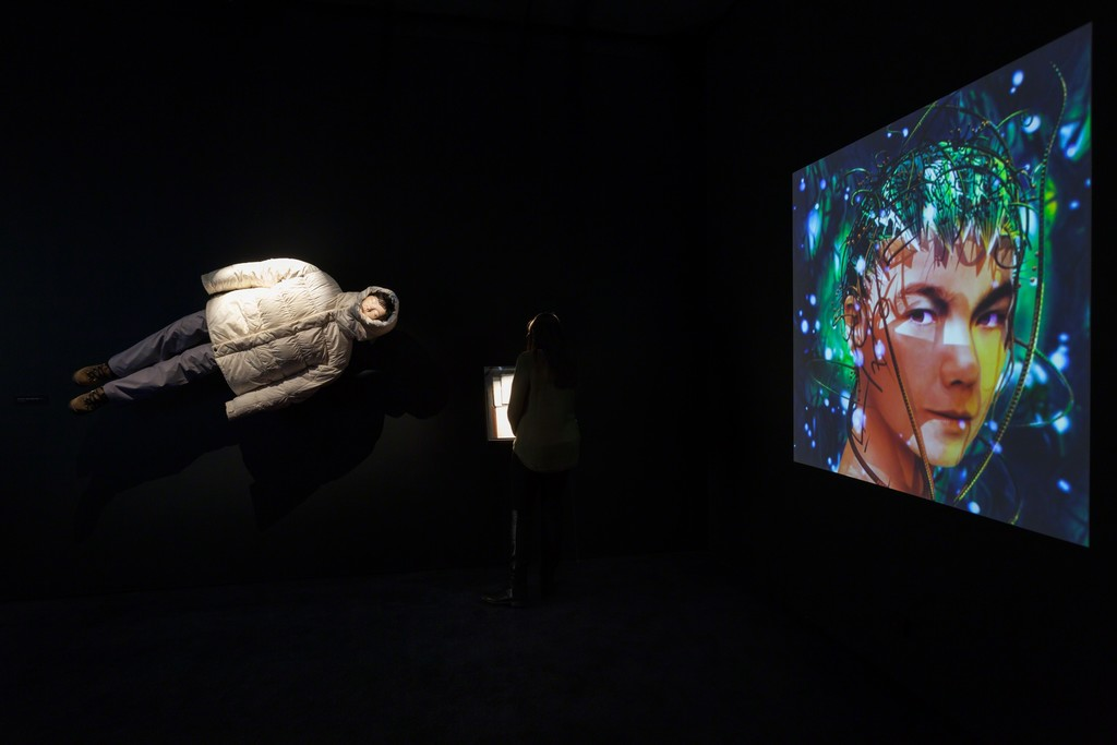 Installation view of Björk, The Museum of Modern Art, March 8–June 7, 2015. © 2015 The Museum of Modern Art. Photo: Jonathan Muzikar
