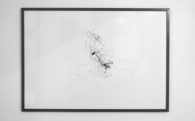 , '7 eye describing a figure,' 2018, Galleria Michela Rizzo