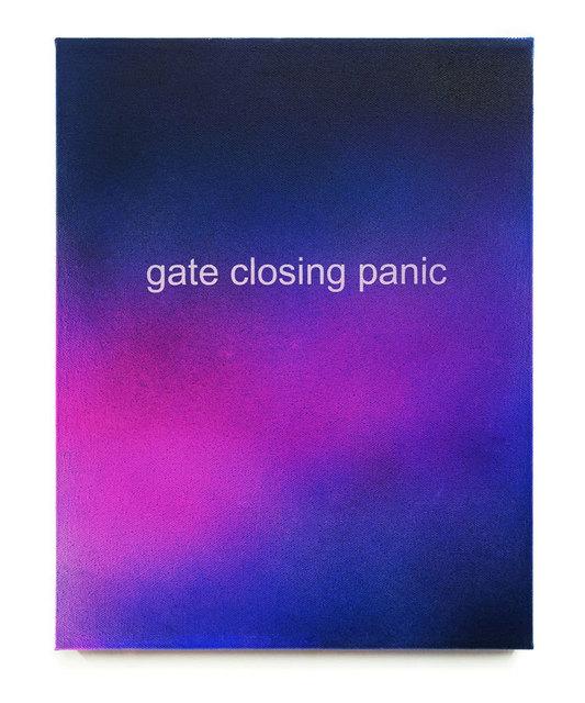 , 'Gate Closing Panic,' 2015, Dillon + Lee