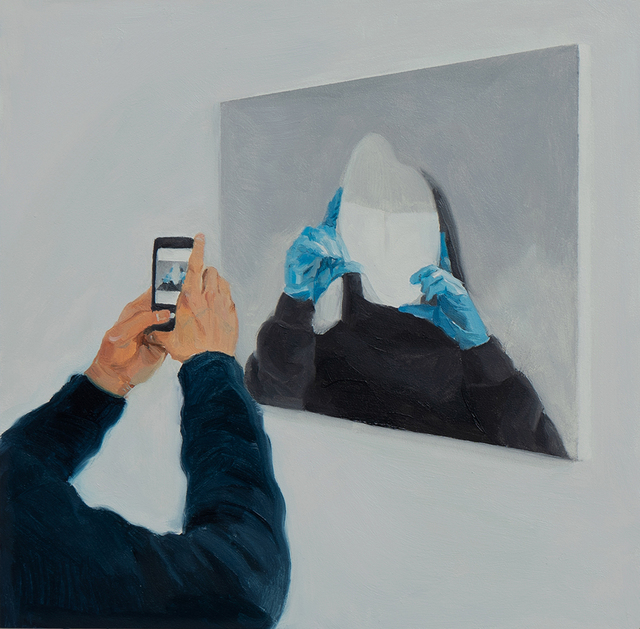 Ruxue Zhang, 'Blue Gloves 4', 2019, CULT | Aimee Friberg Exhibitions