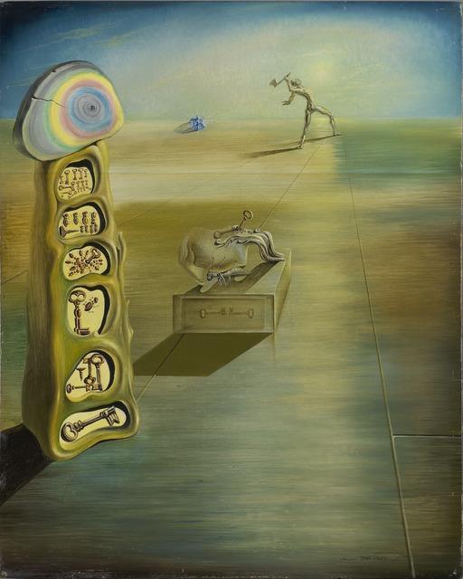 Salvador Dalí, 'Untitled (Surrealist Composition)', 1930, Yale University Art Gallery