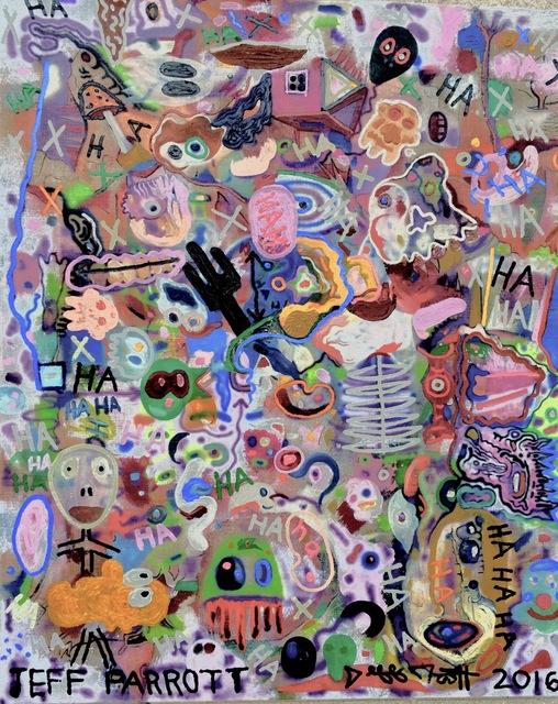 , 'Hahaha,' 2016-2017, Ro2 Art