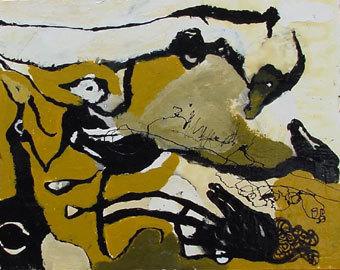 Guillermo Olguin, 'Mostaza', 2000, Galería Quetzalli