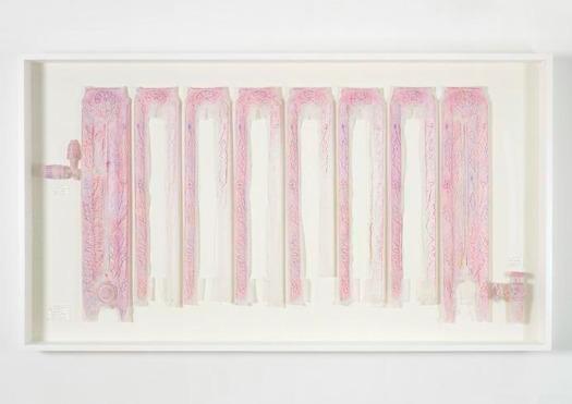 Do Ho Suh, 'Rubbing/Loving Project: Radiator, Corridor, 348 West 22nd Street, New York, NY 10011, USA', 2014, Joyce Varvatos