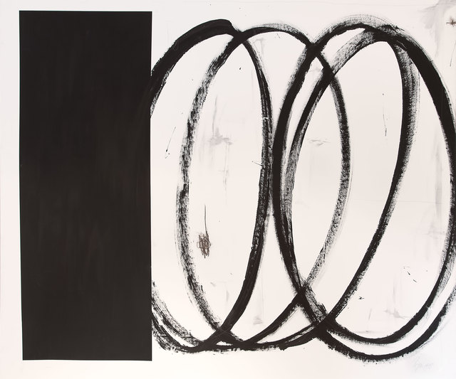 Briggs Edward Solomon, 'Black Square with Swirls', 2014, ArtStar
