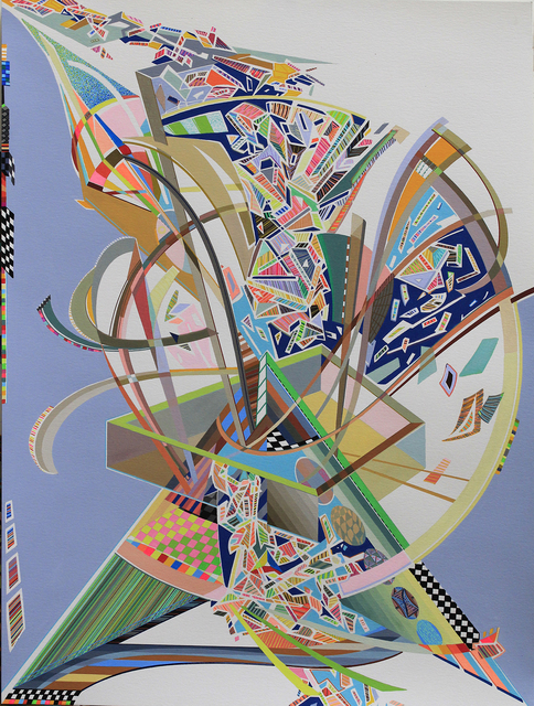 , ' structure into structure: metaphor for disillusion,' 2015, Kirk Stoller
