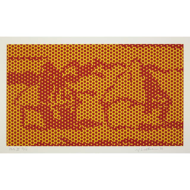 Roy Lichtenstein, 'Haystack #6, State III from Haystack Series', 1969, Freeman's