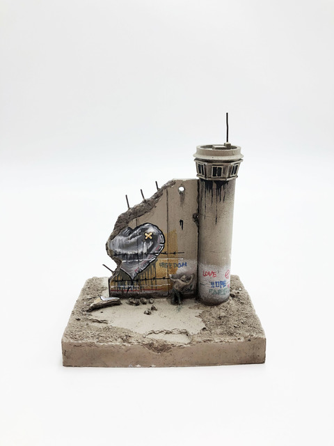 Banksy, 'Walled Off Hotel - Wall Sculpture (Heart)', 2018, Ephemera or Merchandise, Miniature concrete souvenir sculpture, hand painted by local artists, Lougher Contemporary