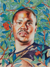Kehinde Wiley, 'Portrait of Rahsaan Gandy,' 2013, Phillips: New Now (February 2017)