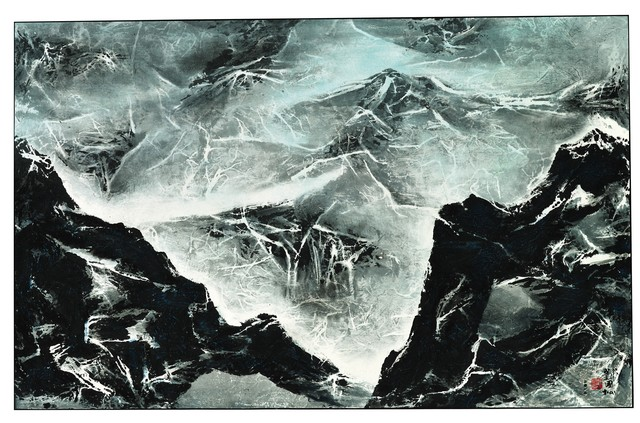 , 'Tibetan Suite Series No. 182 – Shadow of the Mountain,' 2012, Christie's South Asian + Chinese