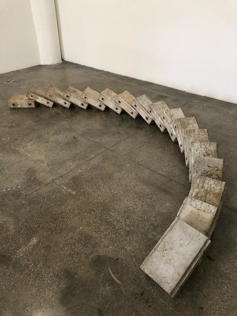 , 'Childhood memory #061287 (fuck your wall),' 2017, International Sculpture Center