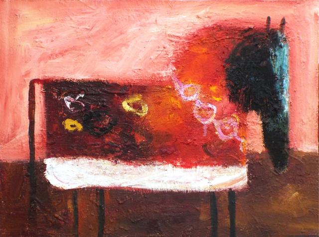 , 'Red Horse with Bells,' 2016, Carter Burden Gallery