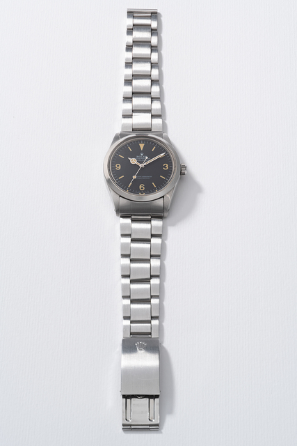 Rolex, 'A fine and rare stainless steel wristwatch with sweep center seconds and bracelet', 1972, Phillips