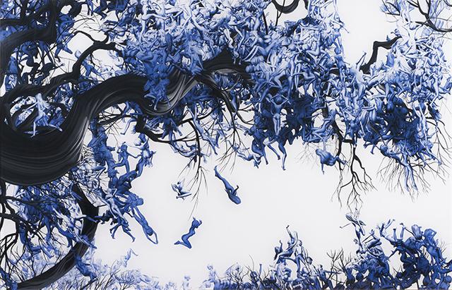 , 'Blue Belles,' 2014, De Re Gallery