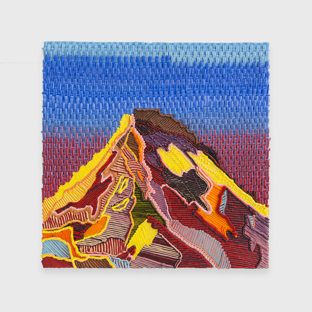, 'Weave Mountain,' 2016, The Hole
