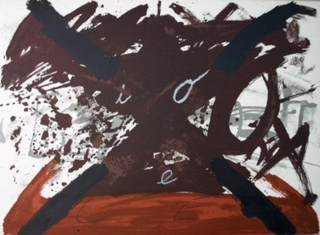 , 'Gran X from the Negre I Roig Suite,' 1976, Posner Fine Art